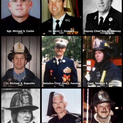 OKC First Responders Killed on 9/11